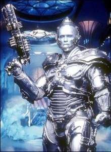 Mr Freeze got my face and eyes that day.