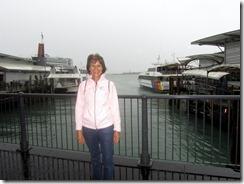 Susan by wharf