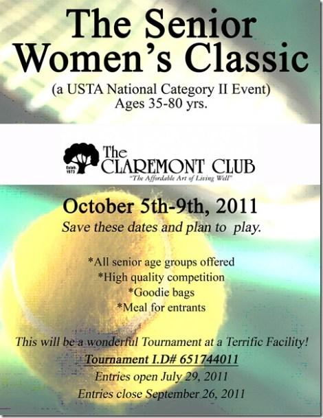 Senior Women's Classic Flyer (2)