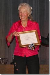 Lucy Dettmer, Age 91!!! Gold Slam winner
