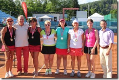doubles medalists