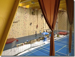 Davos Tennis Halle, with Badminton Courts and Climbing Wall