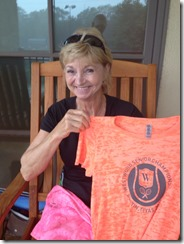 kathy l with shirt
