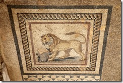 Mosaic in Terrace house