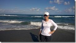 kathy on beach
