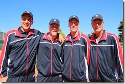 Godfrey, Tammen, Fedderly, Wilder, Men's 55, Austria Cup