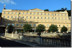 Site of Official Dinner in Karlovy Vary
