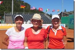 Edith Hess, Carolyn Nichols, Bridget Harrer