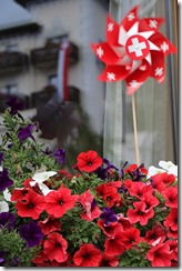 flowers and flags on Swiss National Day 8-1-2015 4-21-41 AM 3648x5472