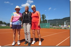 Olga, referee and me