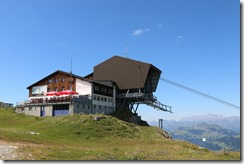 restaurant and cable car
