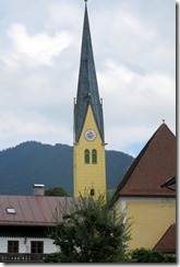 Tegernsee church steeple