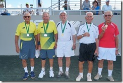 M85 doubles, Alle Byrne, MCCabe, brone