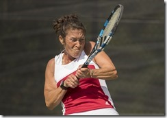 Oct 31, 2017; Miami FL, USA; Maureen Connolly Cup (W55) - Tracy Houk (USA)