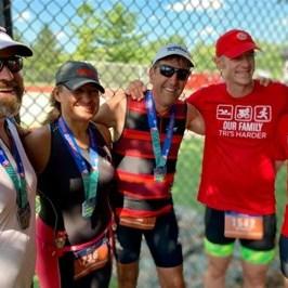 Paul Zellner's family in runner and triathlete