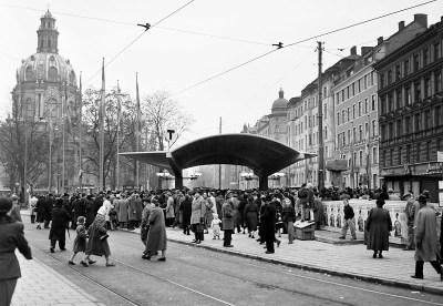 Odenplan 1952