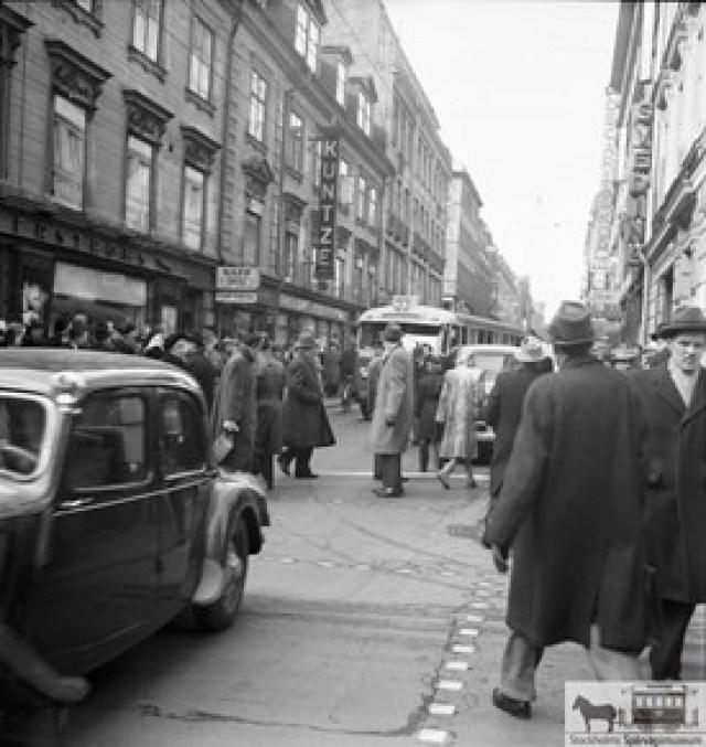 29 mars 1952 Sthlmskällan Sthlms spårväg
