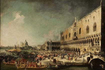 Canaletto,_The_Reception_of_the_French_Ambassador_Jacques–Vincent_Languet,_Compte_de_Gergy_at_the_Doge's_Palace,_4_November_1726