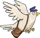 Post Bird, Mail pigeon