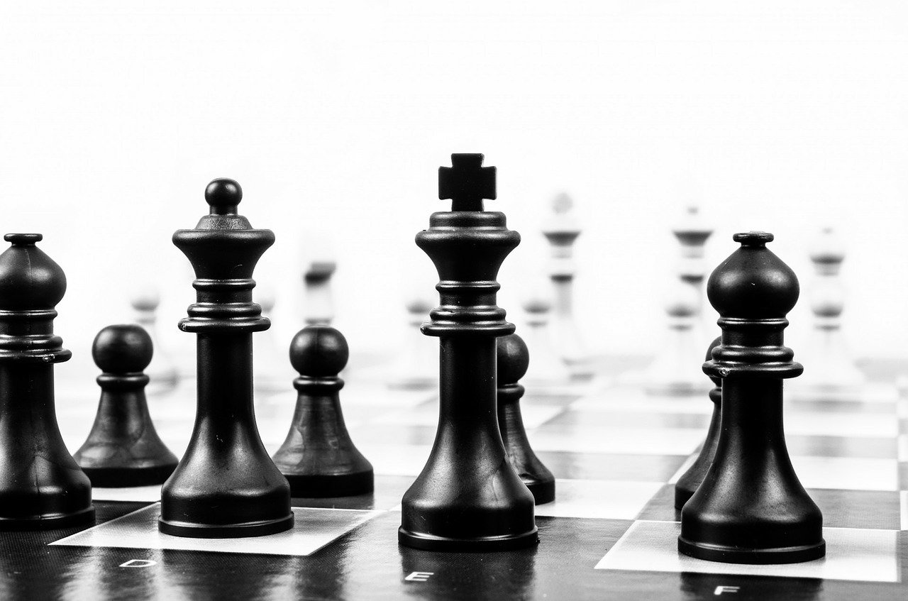 chess, chess board, board game