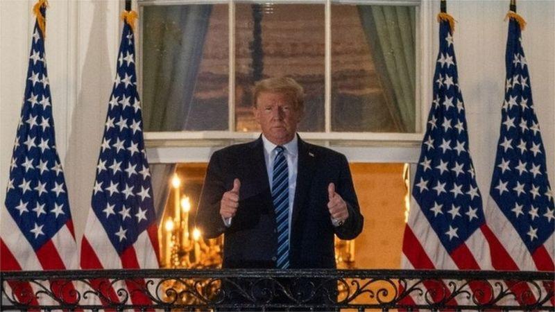 트럼프 백악관 복귀