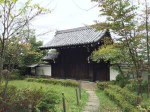 黒田藩邸の門