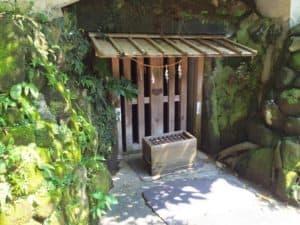 護良親王が幽閉された土牢