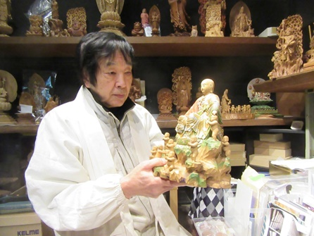 「松本明慶佛像彫刻美術館」講演会・見学会(3/15、大阪)