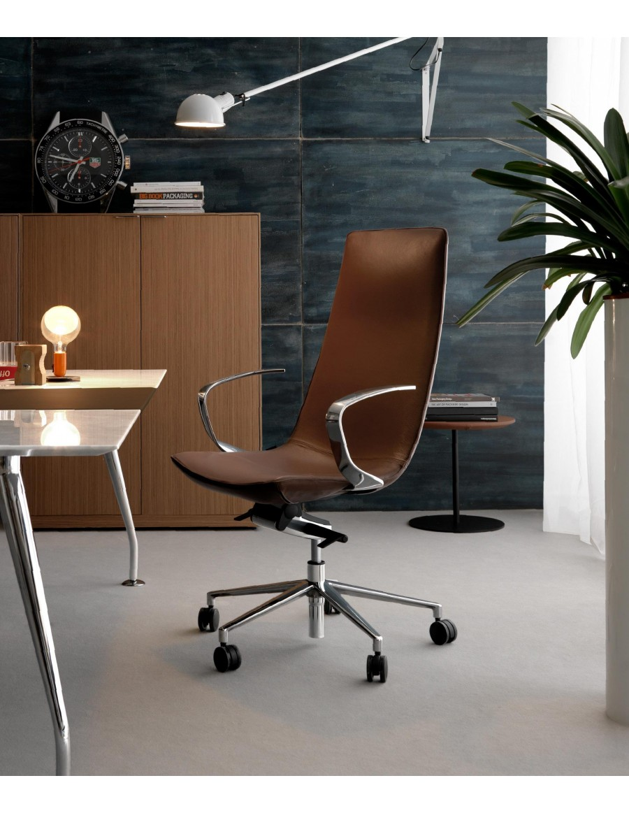 harith high back leather executive chair glider australia office brown leather. serta manager puresoft roasted. acme ...
