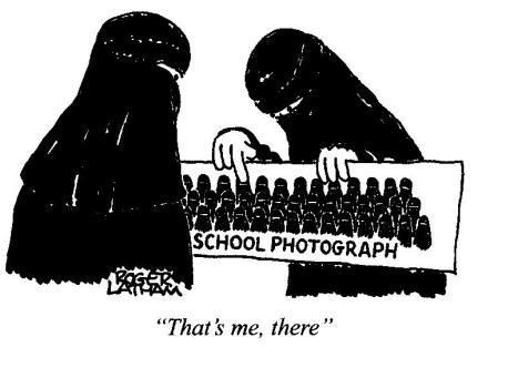 அல்லாவின் பார்வையில் பெண்கள்: 1. புர்கா