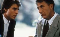 Tom Cruise (left) and Dustin Hoffman in Rain Man.