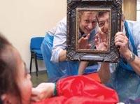 Visual stimuli offer powerful ways of reaching children.