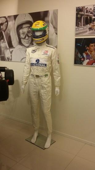"Senna original ""Driven to Perfection"" Bercy crash Overalls"