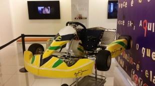 Senna licensed GoKart