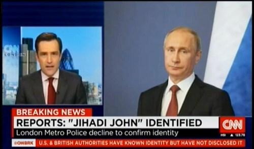 CNN Putin Jihadi John