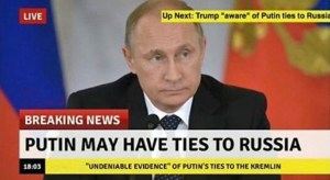 Putin Ties Russia