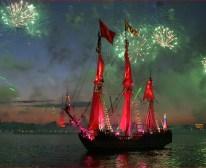 Crimson Sails on the Neva