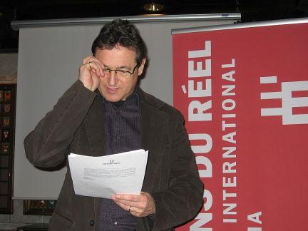 Jean Perret an der PK in Zürich 13.3.08 (c) sennhauser