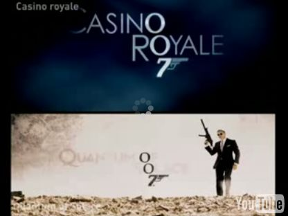 Trailers Casino Royale Quantum of Solace YouTube