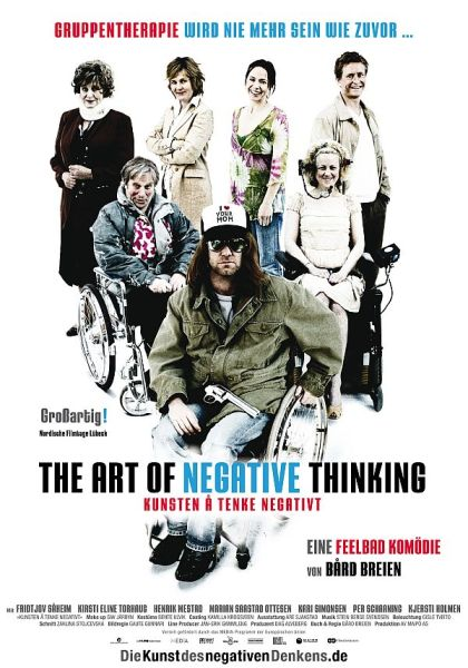 The Art of negative Thinking Poster