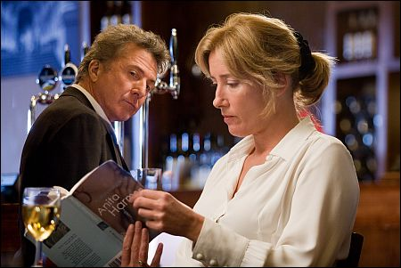 Dustin Hoffman, Emma Thompson in 'Last Chance Harvey' (c) Ascot-Elite