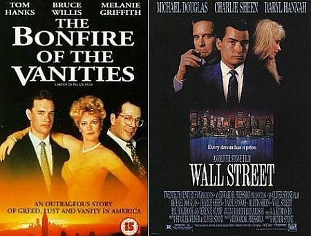 Bonfire of the Vanities Wall Street