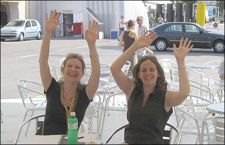 Sie haben vor Ort zugehört Jenny Billeter Pressefrau des Festivals und Marcy Goldberg Filmwissenschaftlerin