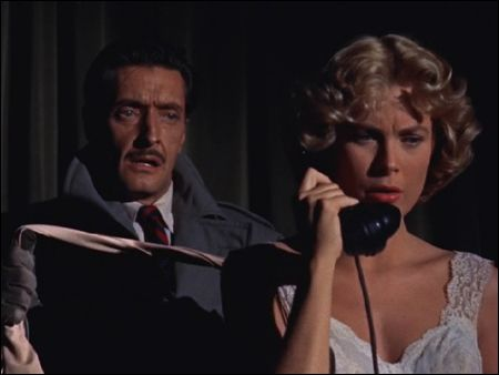 Grace Kelly in Gefahr in 'Dial M for Murder'