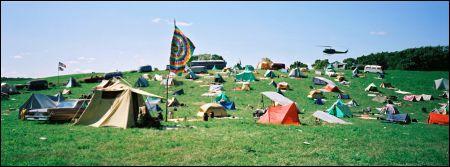 taking woodstock field tents