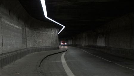 James Benning Ruhr Tunnel