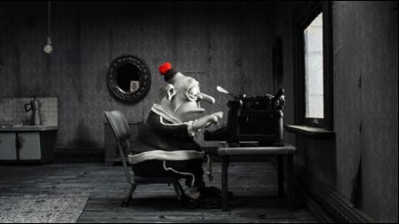 Mary And Max Max typing