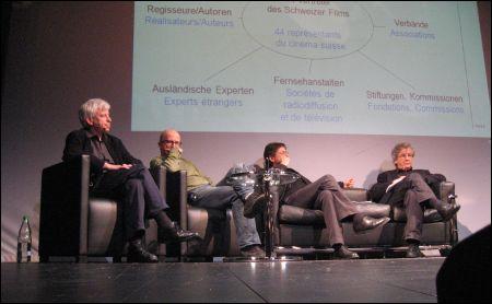 Marcel Hoehn, Thierry Spicher, Alberto Chollet, Adrian Marthaler (v.l.)