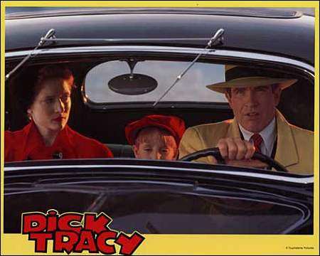 'Dick Tracy' mit Warren Beatty (Schaukastenkarton)
