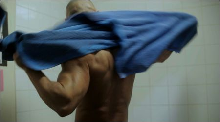François Sagat in 'Homme au bain'